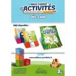 Mon Cahier d'Activités pour les tout-petits - Dès 3 ans - Editions Portfolio