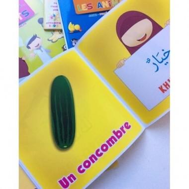 J'apprends mes premiers mots: les légumes – Athariya Kids