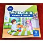 TA'LIM-CUBE - 10 Cubes à Empiler - MUSLIMKID